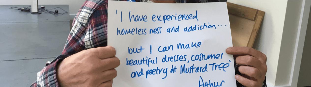 World Homelessness Day header